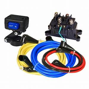 Kfi Products Universal Winch 12v Wiring Kit