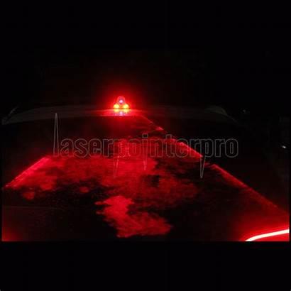 Laser Fog Anti Warning Collision 650nm Waterproof