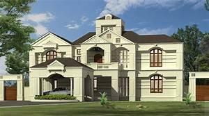 6200, Square, Feet, Double, Floor, Contemporary, Home, Design