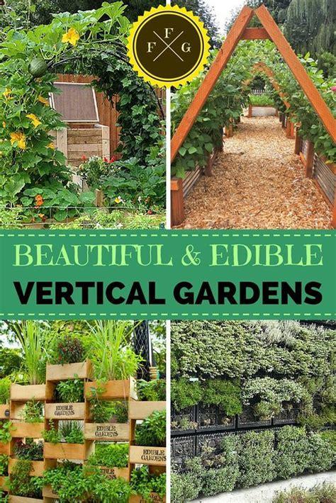 Edible Vertical Garden by 17 Best Ideas About Vertical Garden Design On
