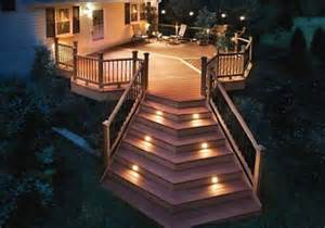 ideas for deck lighting deck design ideas