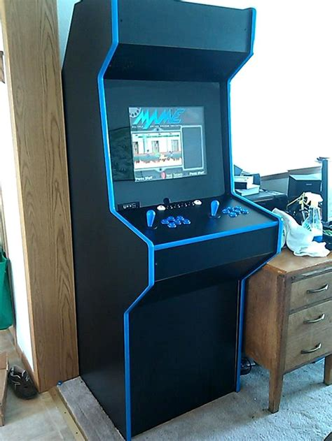 Mame Arcade Cabinet Diy Custom Made Mame Arcade Cabinet 171 Retro Gaming