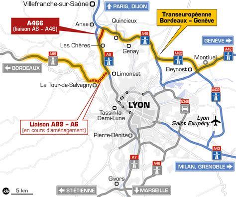 Carte Des Autoroutes Du Centre De La by Autoroutes Ouverture De L A466