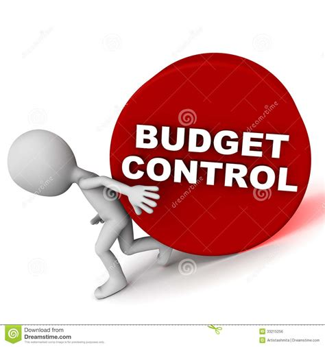 budget control royalty  stock image image