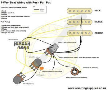 Way Strat Wiring Diagram Guitars Cigar Box Guitar
