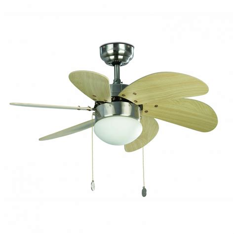 faro ceiling fan palao nickel matt 76 cm 30 quot with