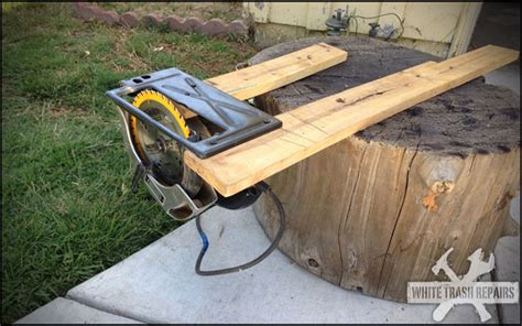 Diy Table Saw Whitetrashrepairscom
