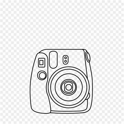 Polaroid Camera Drawing Instant Instax Mini Fujifilm