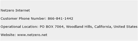 netzero customer service phone number toll