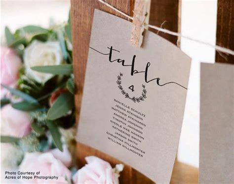 Wedding Seating Chart Template, Seating Plan, Seating