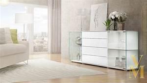 Hänge Tv Schrank : sideboard kommode tv board vitrine anrichte f hr v2 wei ~ Michelbontemps.com Haus und Dekorationen