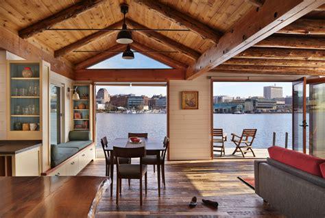 houseboat  reborn   urban cabin