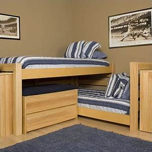 diy l shaped bunk beds woodworking projects plans