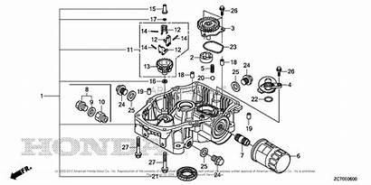 Honda Taf Vin Pan Oil Engine Engines