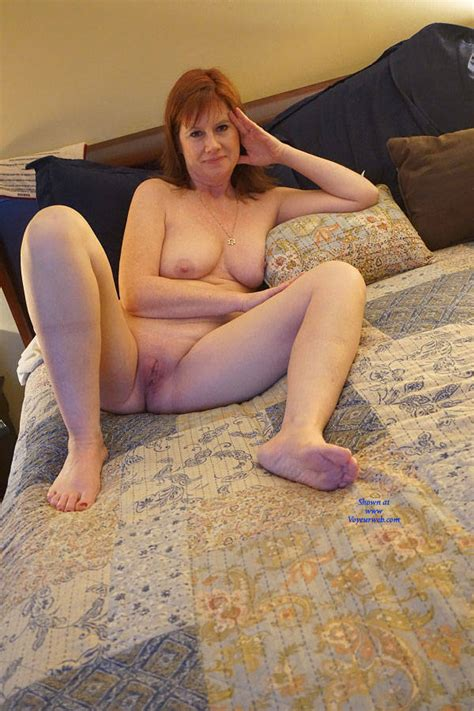 Redhead Milf Nude Again July 2017 Voyeur Web