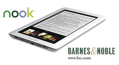 """Barnes & Noble's """"nook"""" Run Android, Has Wifi, Pdf Support"""