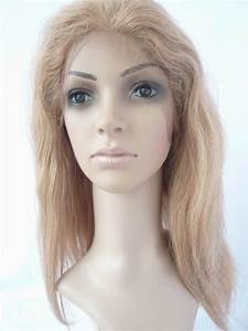 Full Lace Human Hair Wigs For White Women Straight 14inch
