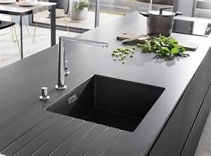 Prix Plan De Travail Cuisine : prix moyen d 39 un plan de travail bois granit b ton ~ Premium-room.com Idées de Décoration