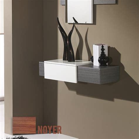 accessoire de bureau original meuble d 39 entrée moderne 2 couleurs au choix