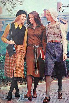 siebziger jahre kleidung 70 s fashion style clothes 70er mode 70er