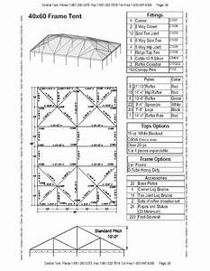 40x60 Complete Frame Tent  U2013 Central Tent