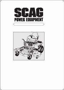 Scag Power Equipment Lawn Mower Ssz User Guide