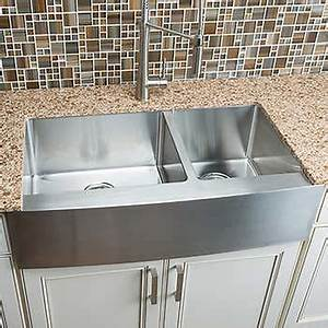 hahn chef series handmade extra large 60 40 farmhouse sink With best price on farmhouse sink