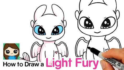 draw  light fury   train  drago faxmoxgvhdm