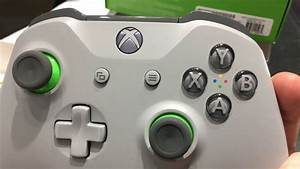 Xbox One Wireless Controller GreyGreen Unboxing YouTube