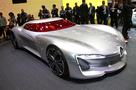 Renault's Next Big Thing? Electric Trezor Concept Revealed