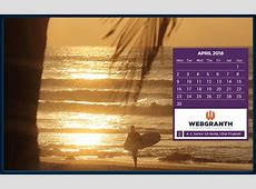 April 2018 Calendar HD Desktop Wallpapers CalendarBuzz