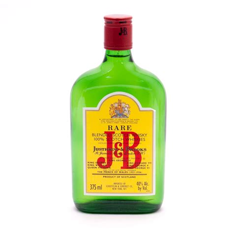 J&b  Rare Blended Scotch Whisky  375ml  Beer, Wine And