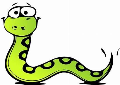 Snake Clker Clip Clipart Cliparts Vector Domain