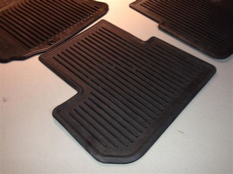 fs midwest black all weather floor mats rubber infiniti logo set of 4 g35driver