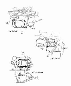 1995 Dodge Neon Starter  Engine  Remanufactured  Federal