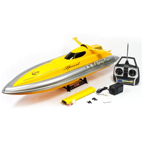 Rc Fishing Boats Electric by Complete Flying Fish Electric Rc Catamaran Boat Velera