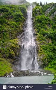 Bridal Veil Falls, Keystone Canyon, Richardson Highway, 15 ...