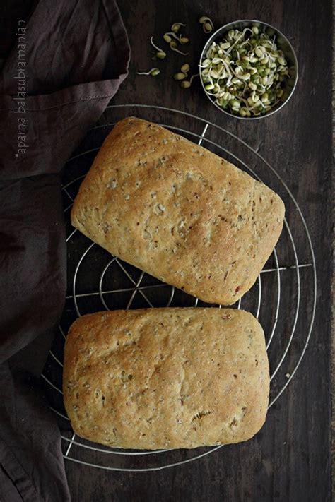 bread  sprouts recipe  diverse kitchen