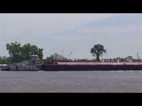 Tugboat New Orleans by Tugboat Pushing Barge In Mississippi River New Orleans