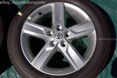 new 2014 toyota camry oem 17 quot factory wheels tires solara