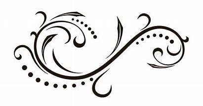 Calligraphy Clipart Scroll Ornament Clip Transparent Monogram