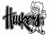 Nebraska Cornhuskers Husker Herbie Decal Coloring Huskers Pages Items Football Decals Silhouette Similar Sticker Template Truck Sketch Ordinary Everything Window sketch template