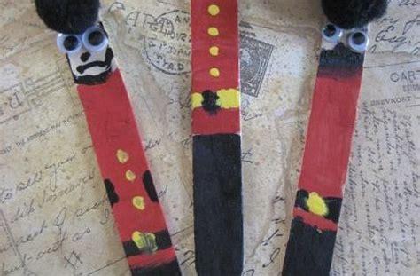 palace guards craft stick  craft   england theme