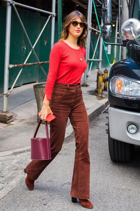 The Outfits That Are Perfect With Corduroy Pants   Who What Wear