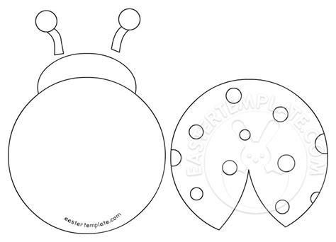 ladybug template printable ladybug template easter template
