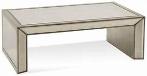 murano antique mirrored rectangular cocktail table t2624 With mirrored rectangular coffee table