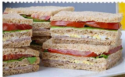 Sandwiches Peceto Empanadas Sandwich Triple Ar