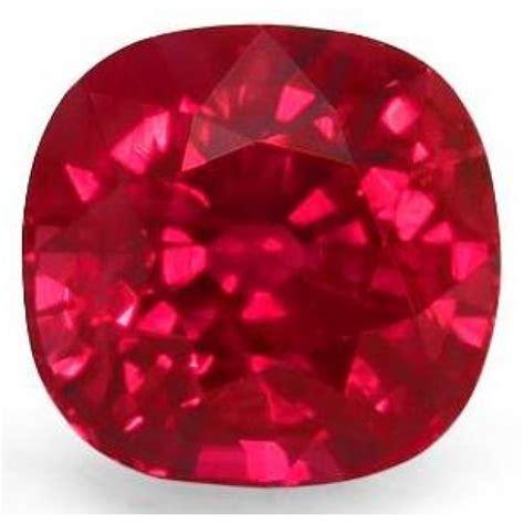 1,44 Ctcushiontypeivvs2burmese Vivid Red Rubynte