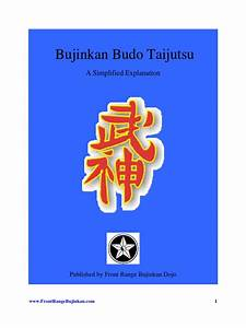 Bujinkan-Budo-Taijutsu | Jujutsu | Japanese Martial Arts