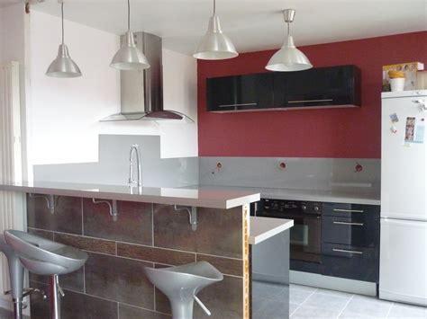 meuble cuisine bar cuisine ouverte avec bar collection avec chambre cuisine